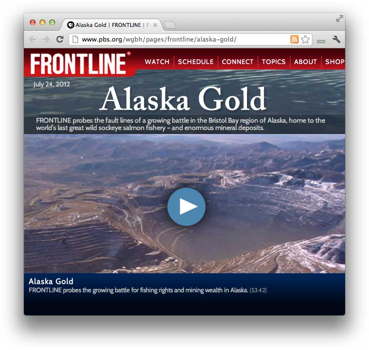 Frontline Alaska Gold Article